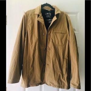 [ Rare find ] Stussy Gear Freece Jacket  in Khaki